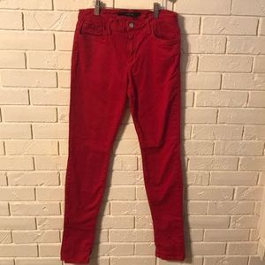 Red Joe's Jeans low-rise skinny-fit Jeans